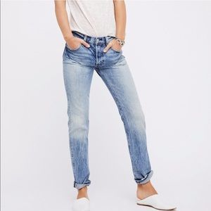 Levi's Jeans - Levi's 501 Selvedge Straight Leg Jean in Tidewater